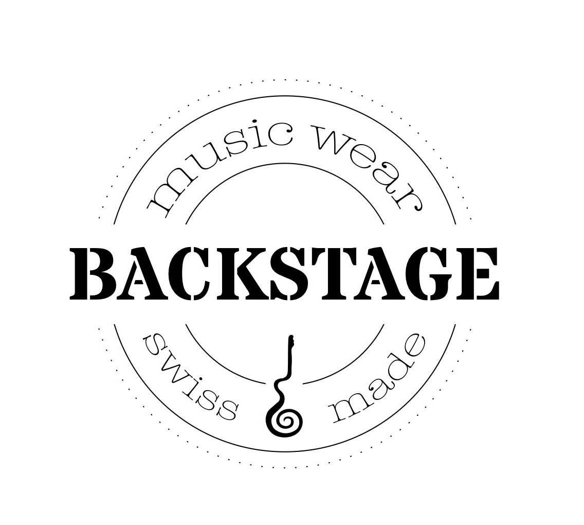 Backstage MusicWear - Upcycling musical. Fait à la main, en Suisse.